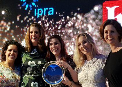 Foto uitreiking IPRA Awards